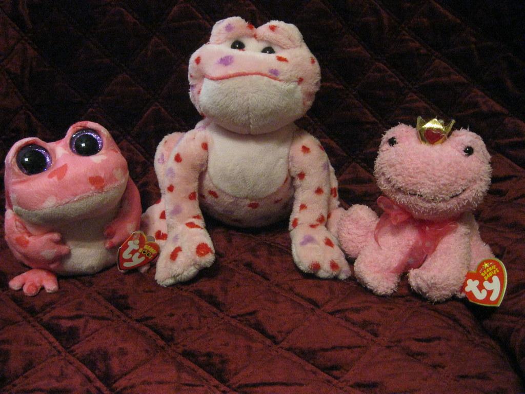 Valentines Frog Beanie Boo Webkinz Beanie Baby Melissa K Flickr