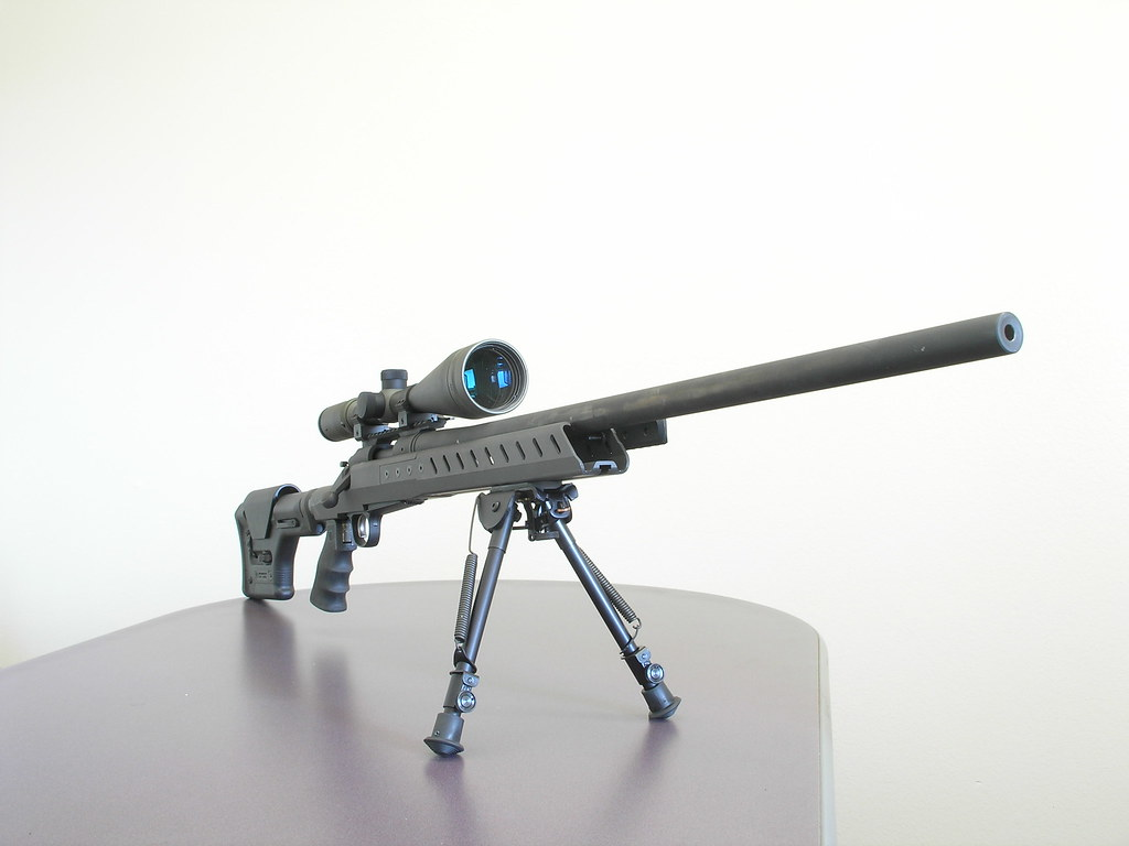 Xcaliber rifle chassis prototype | We showed this stock desi… | Flickr