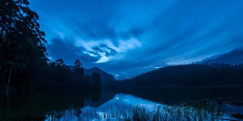 blue moon lake mountains kerala shades moonlit rivers tones hillstation westernghats munnar echopoint idukki nikond600 nikon1424mmf28 monojitdey nallathanni kundaly madhurapuzha