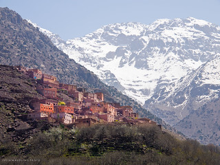 Berber Village & Mount Toubkal, Morocco | by juliamaudlin