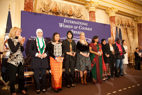 International Women of Courage Awards 2015   by Bureau of Educational & Cultural Affairs