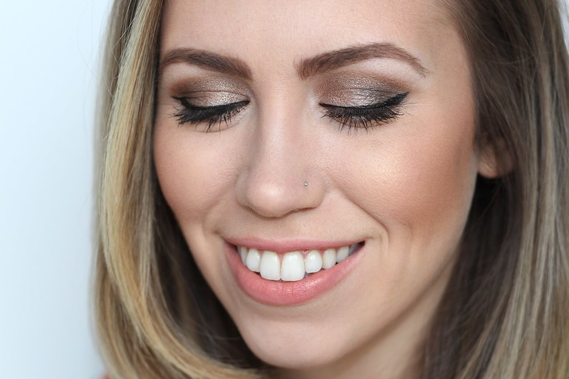Bronze Smoky Eye | Makeup | A Look Back at 10 Years of Blogging Living After Midnite Blogger Jackie Giardina