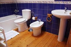 Baño. Casa de Aldea Folú