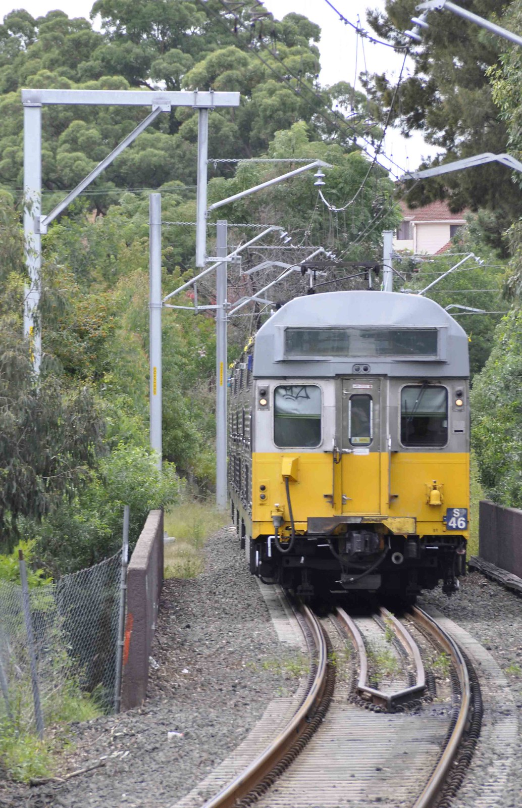 Sydney Trains - T6 The Carlingford Line - S-set S46 returns to Dundas from Telopea and Carlingford by John Cowper