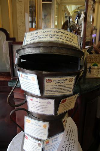 Naples' 'suspended coffee' at Gran Caffè Gambrinus