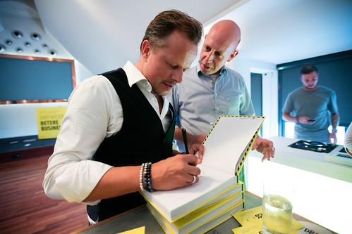 Book launch Design A Better Business   by Sebastiaan ter Burg