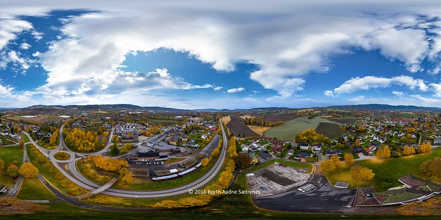 360 degree image from Lier, Norway