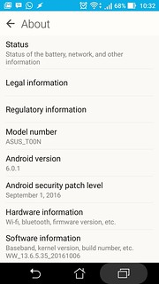 Update successful ASUS PadFone S from Lollipop to Marshmallow | by Wheeqo