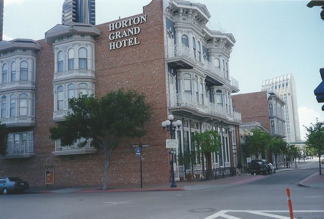 Horton Grand Hotel, Gaslamp Quarter, San Diego, California, USA - www.meEncantaViajar.com
