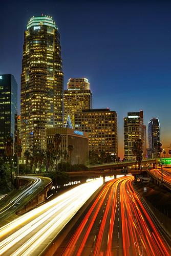 california street city urban usa buildings us losangeles cityscape nightlights unitedstates citylights 2014 zeiss2470mmf4 sonya7s
