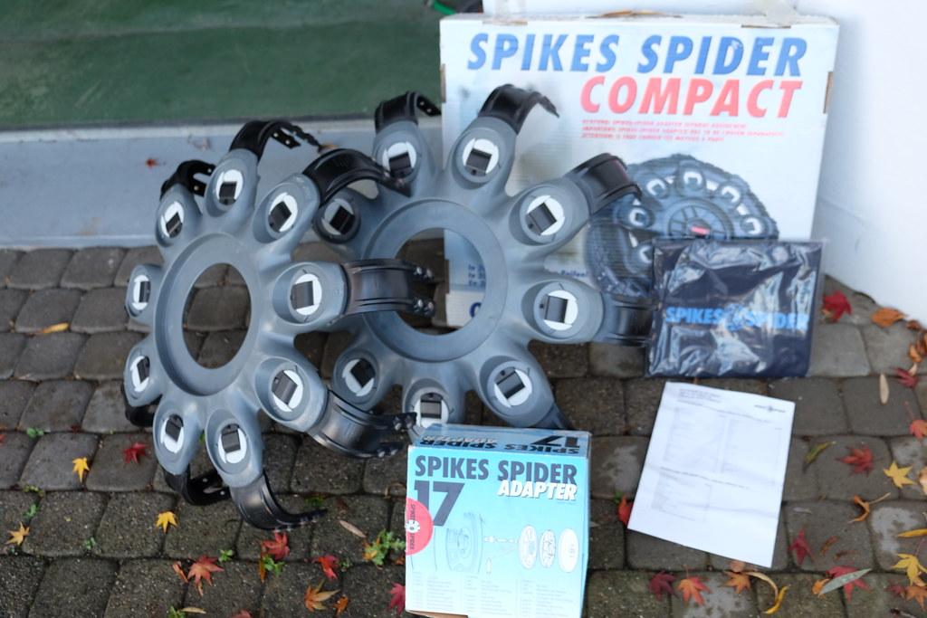 spikes spider besser als schneeketten spikes spiders 250 flickr. Black Bedroom Furniture Sets. Home Design Ideas