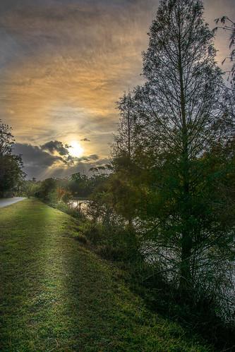 sunset paisajes river atardecer landscapes orlando florida econlockhatchee