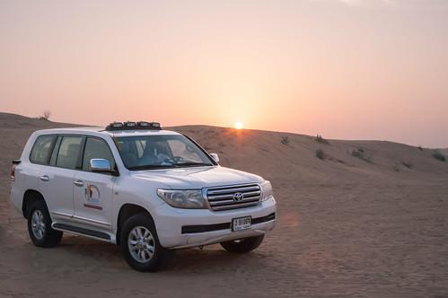 dubai desert safari toyota landcruiser sharjah unitedarabemirates desertsafari