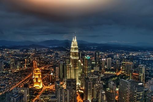 city travel panorama photography cityscape view petronas malaysia kualalumpur klcc nikond5300