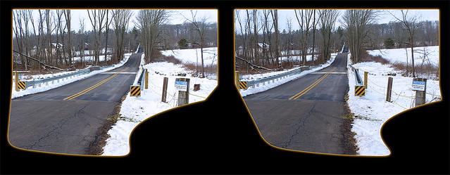 Finally, a New Bridge! - Cross-eye 3D