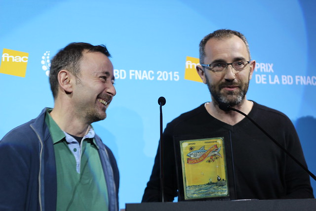 Grégory Panaccione et Wilfrid Lupano - Prix Fnac BD 2015