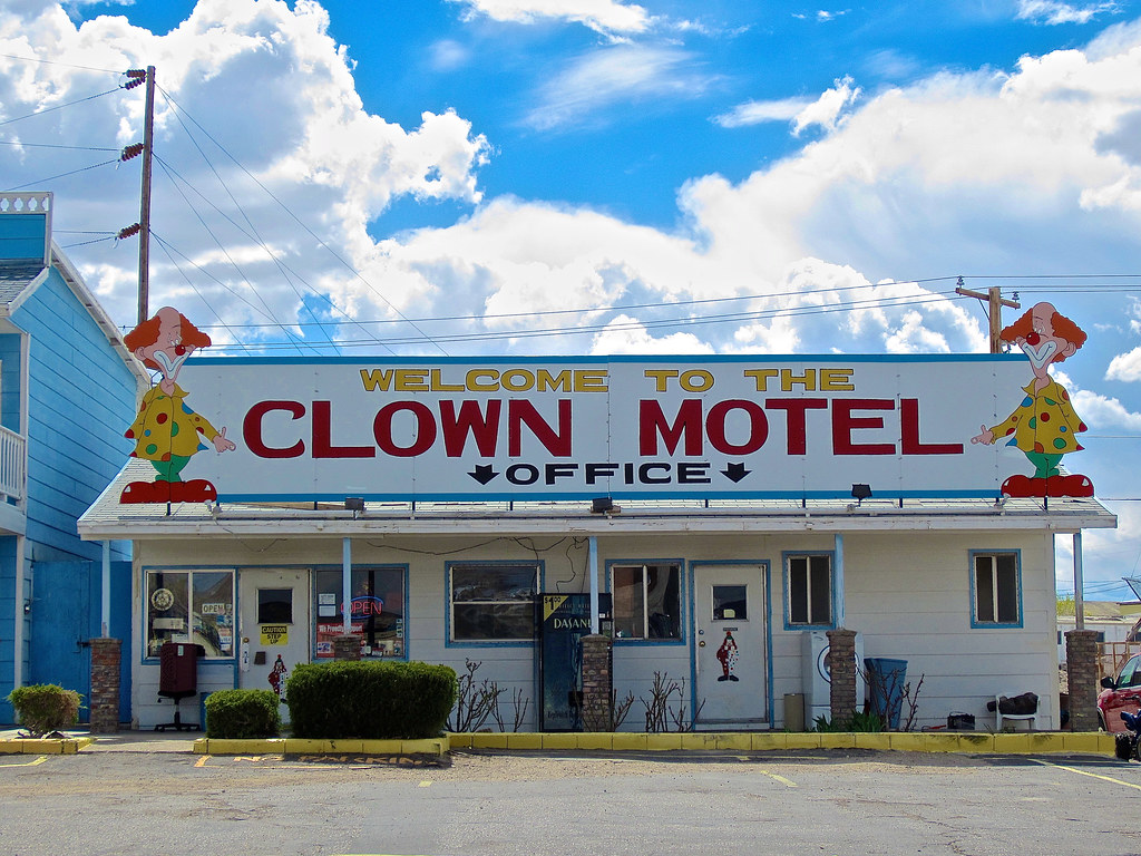 Clown Motel, Tonopah, NV