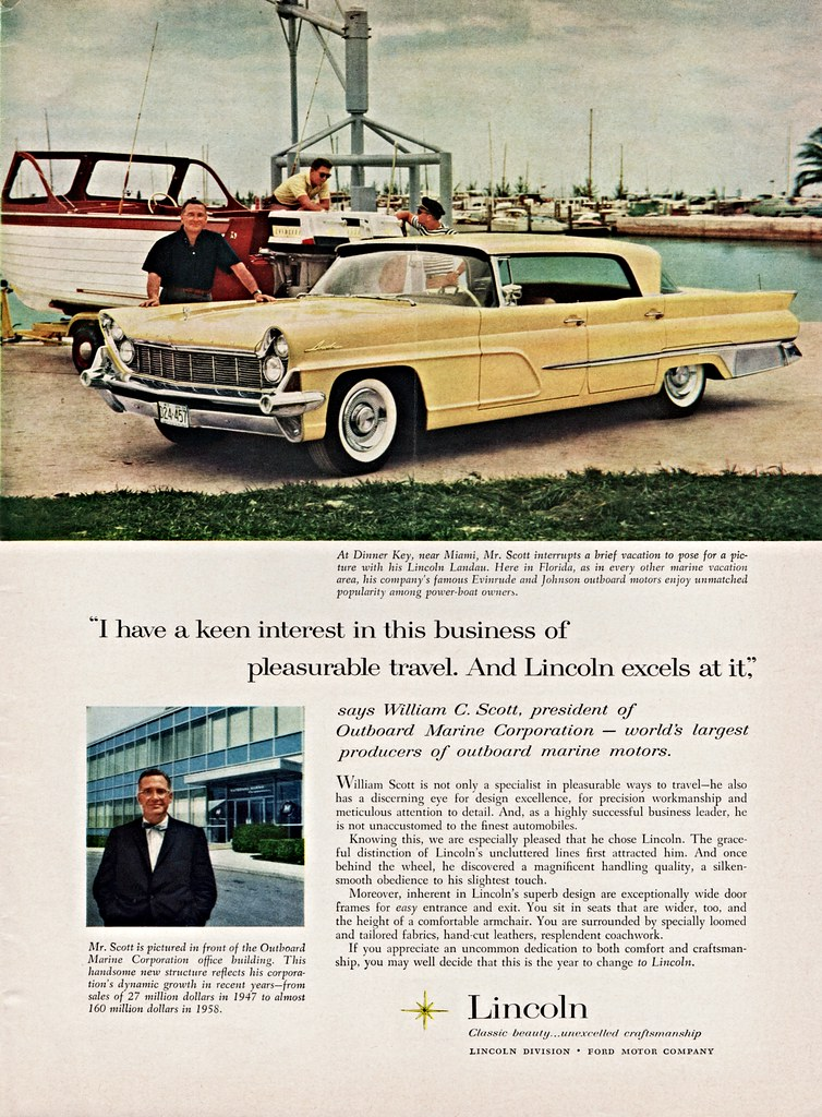 1959 Lincoln Landau   Owned by William C  Scott, President o…   Flickr