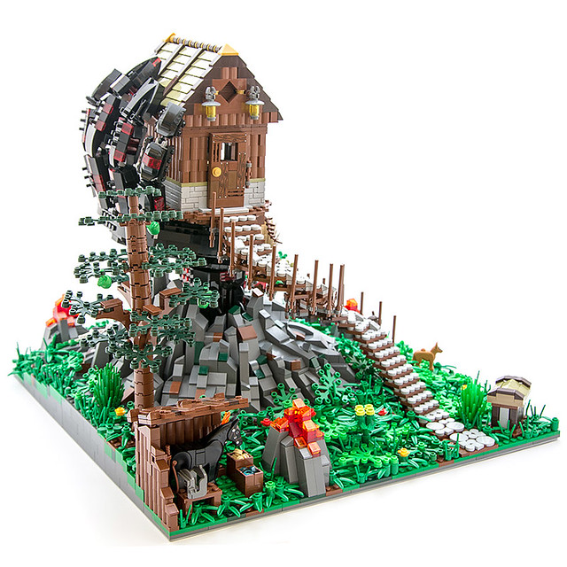 Tree houses are so yesterday