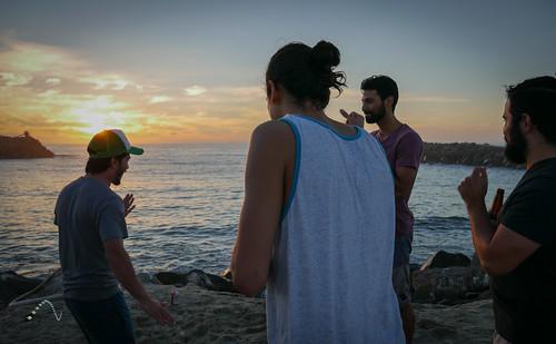 paxdelgado tijuana méxico atardecer sunset sea mar