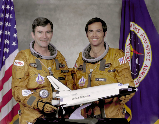The STS-1 Crew