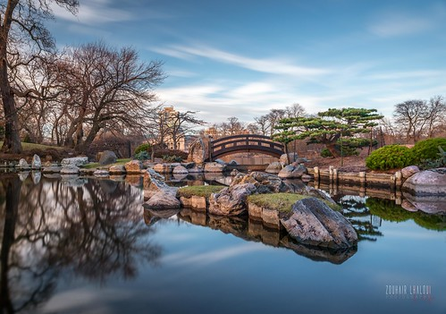 bridge autumn trees lake chicago fall water rock clouds forest reflections garden landscape japanesegarden illinois midwest chitown bluesky osaka decor 2014 windycity 2470mm osakagarden d810 nikond810 nikon247f28 zlphotography zouhairlhaloui cloudporns