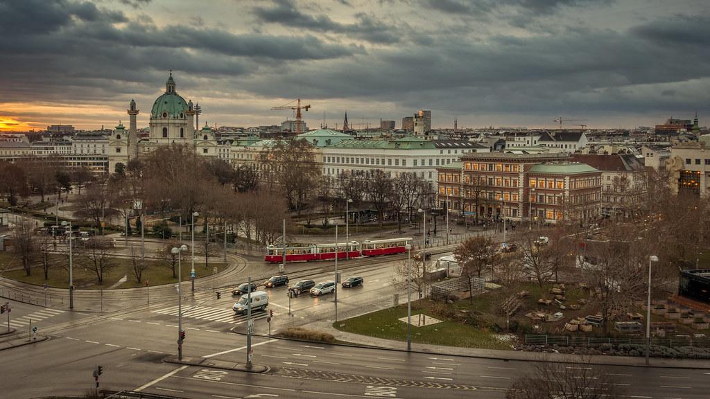 Guten Morgen Wien Aufnahme Aus Dem 5 Stock Des Hotels Ga