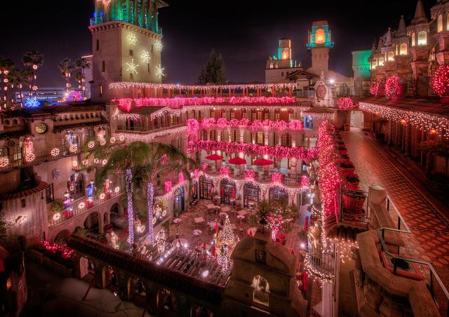 Mission Inn Christmas HDR 1