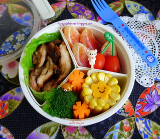 Shoyu Chicken Round Bento | by sherimiya ♥