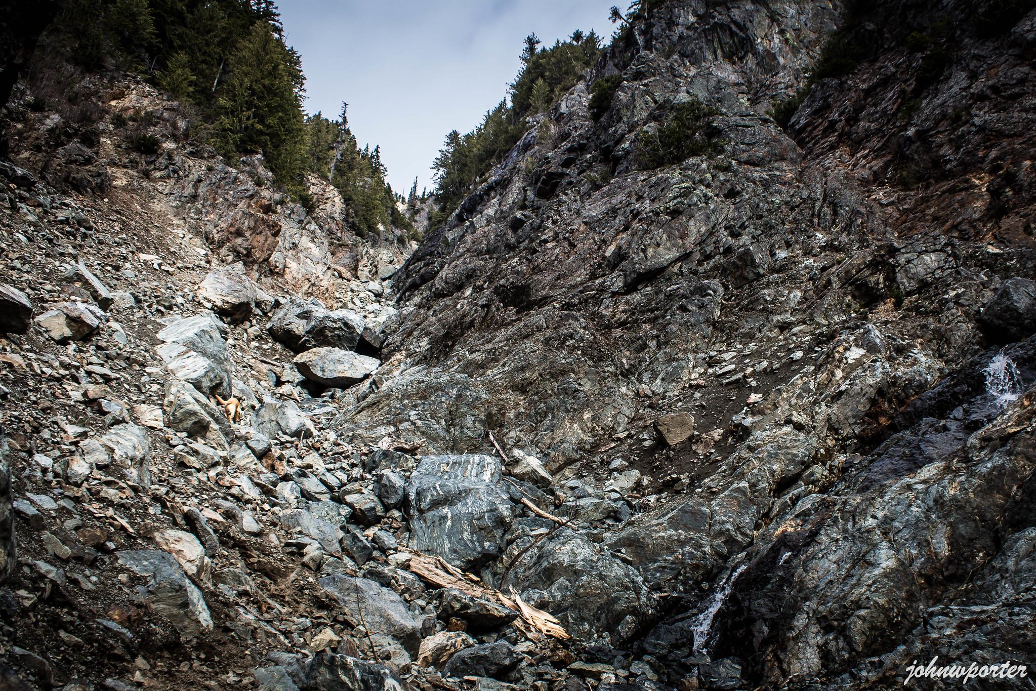 Merchant Peak south gully