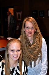 Kate Crabtree (left) and her mom Sheila.