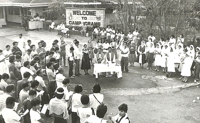 Early in the morning of Sunday in and around Camp Crame, civilian support grew undeniably, while the few rebel soldiers supporting Enrile and Ramos stayed alert