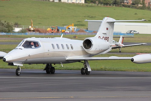 Jet Executive International Learjet LJ35 D CAPO Exeter 17/10/12 | by Challenger 601