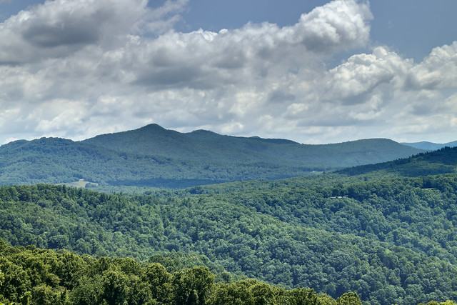 Loops Overlook, Blue Ridge Parkway, McDowell County, North Carolina