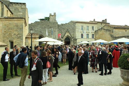 圖04.Saint-Emilion葡萄酒節幾乎是仕紳名流的聚會