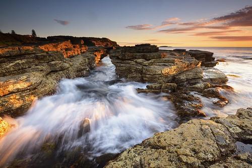 aus australia newsouthwales swanseaheads nikond750 nikon1635mmf4 seascape rocks sunrise