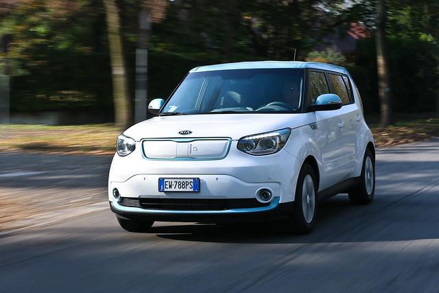 Kia Soul EV Test-Drive in Italy