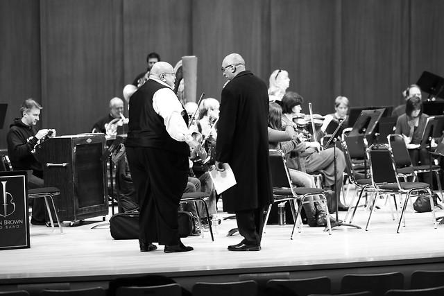 Baldwin Auditorium - Duke University, 100 Men In Black, Durham Symphony