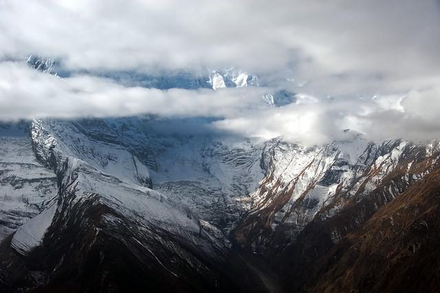 Spurs of Annapurna, Pisang peak BC, Nepal-2011