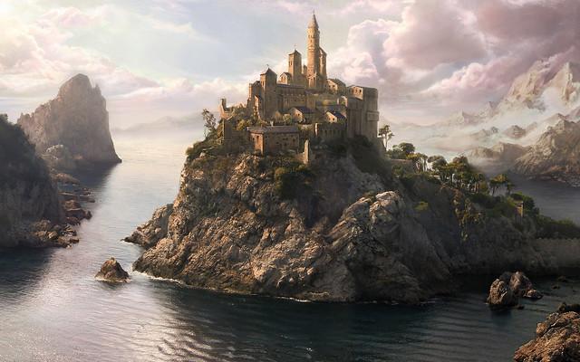 Fantasy Castle Wallpapers 4K Images