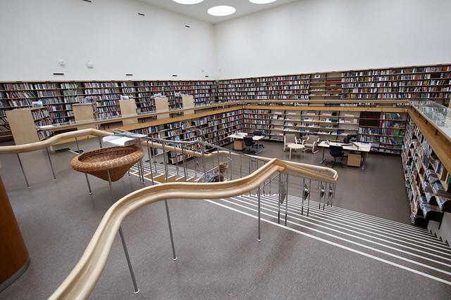 Vyborg's City Library (Lending Hall)