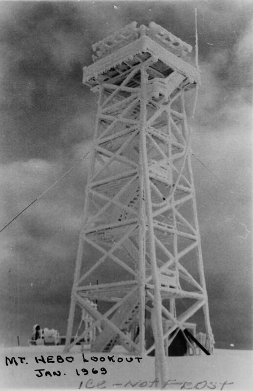 Mt Hebo, 1969