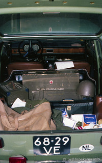 FIAT 127 in military setting