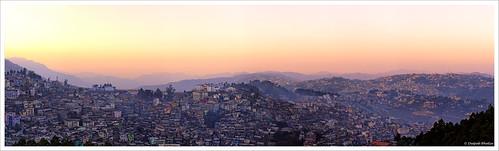 kohima nagaland sunset dusk panorama india town east hilly canon 6d mountain landscape outdoor hill sky foothill mountainside milestoneenterprisein milestoneenterprise