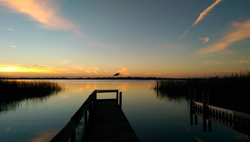 florida htconem8 creatography oneography sunrise sky clouds cloud pier dock water shore