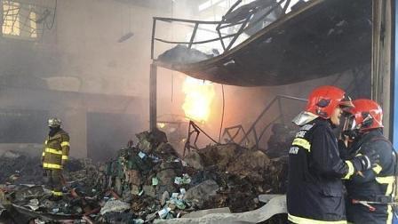 Una bomba de la SGM estalla en Bangkok