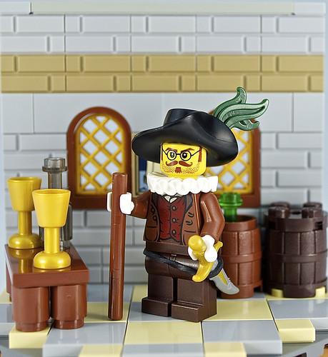 The Honourable Merchant Halbert Abthony | by JBIronWorks