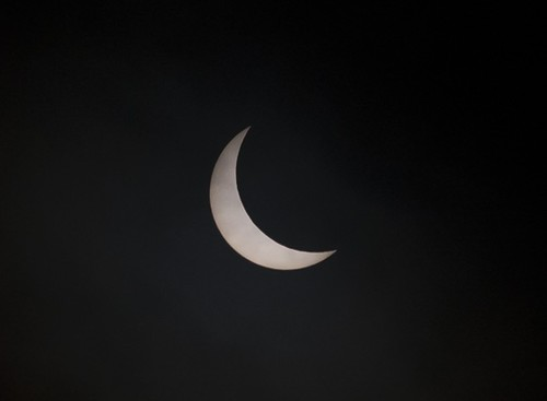 The Eclipse from Chester, UK