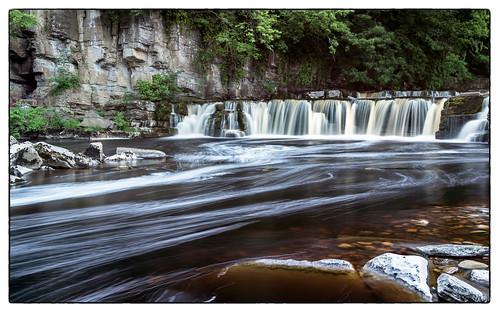 waterfall yorkshire richmond riverswale