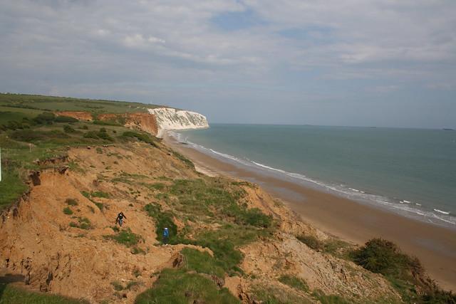 Culver Cliff near Yaverland, Isle of Wight